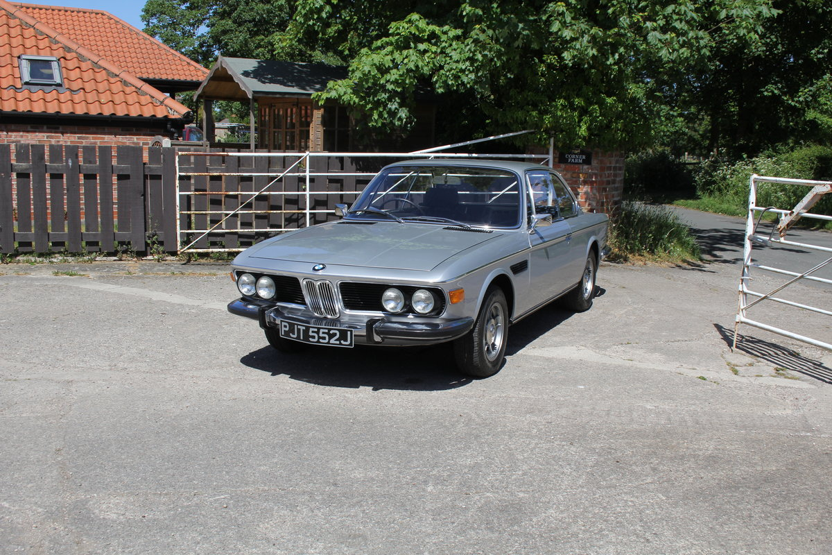 1970 BMW 2800CS Automatic, UK RHD One Family 36 Years SOLD (picture 3 of 19)