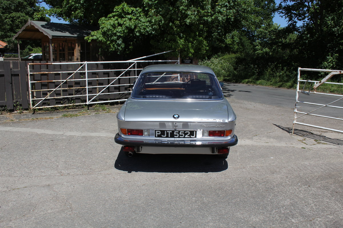1970 BMW 2800CS Automatic, UK RHD One Family 36 Years SOLD (picture 5 of 19)