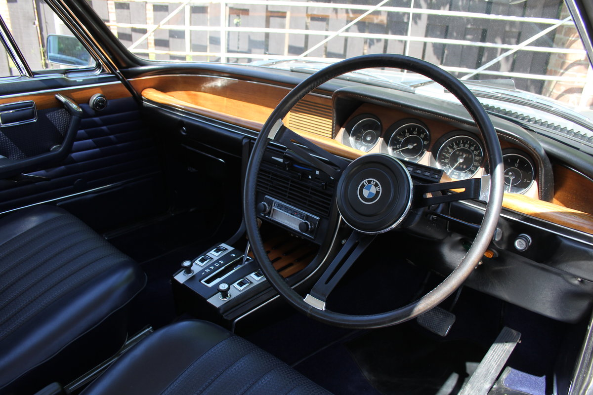 1970 BMW 2800CS Automatic, UK RHD One Family 36 Years SOLD (picture 7 of 19)