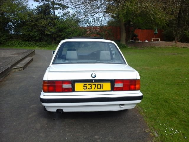 1990 E30 BMW 316 LUX For Sale (picture 3 of 4)