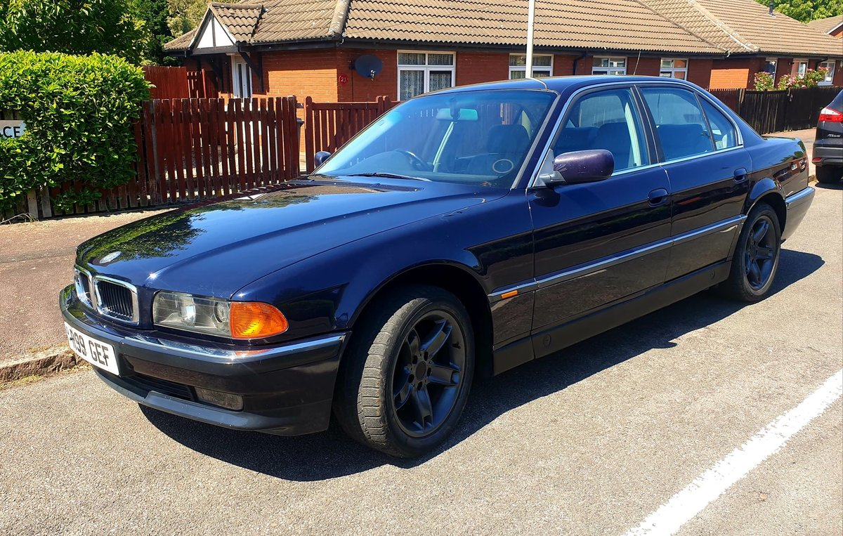 1997 Bmw 728i e38 daily classic very clean car For Sale (picture 1 of 6)