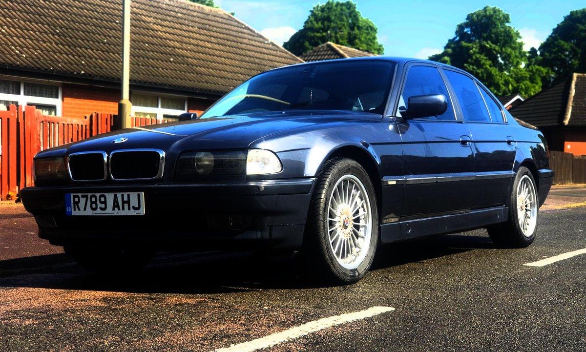 1997 Bmw 740i e38 v8 auto For Sale (picture 5 of 6)