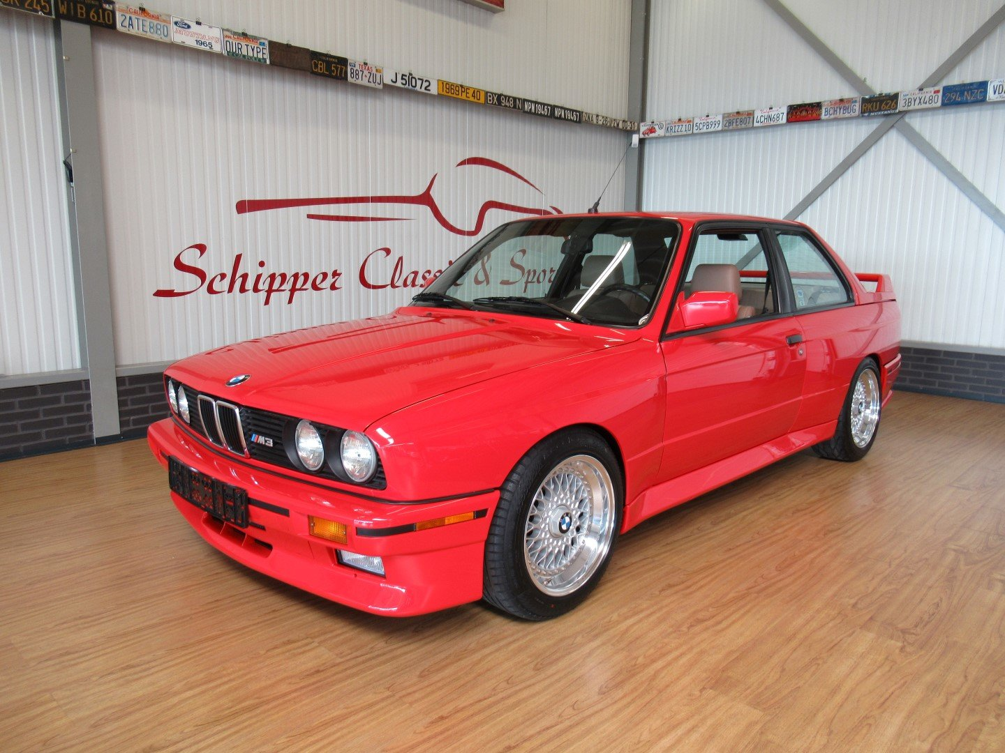 1990 BMW BMW E30 M3 Brillantrot For Sale (picture 1 of 6)