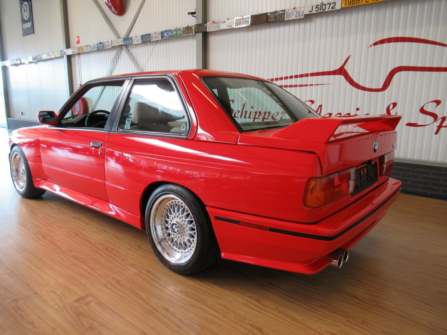 1990 BMW BMW E30 M3 Brillantrot For Sale (picture 3 of 6)