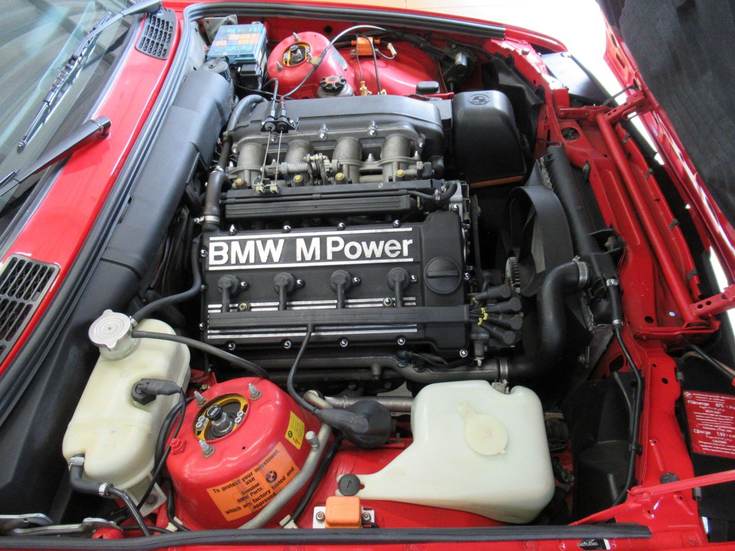 1990 BMW BMW E30 M3 Brillantrot For Sale (picture 5 of 6)
