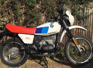 1983 BMW R80 G / S in excellent condition