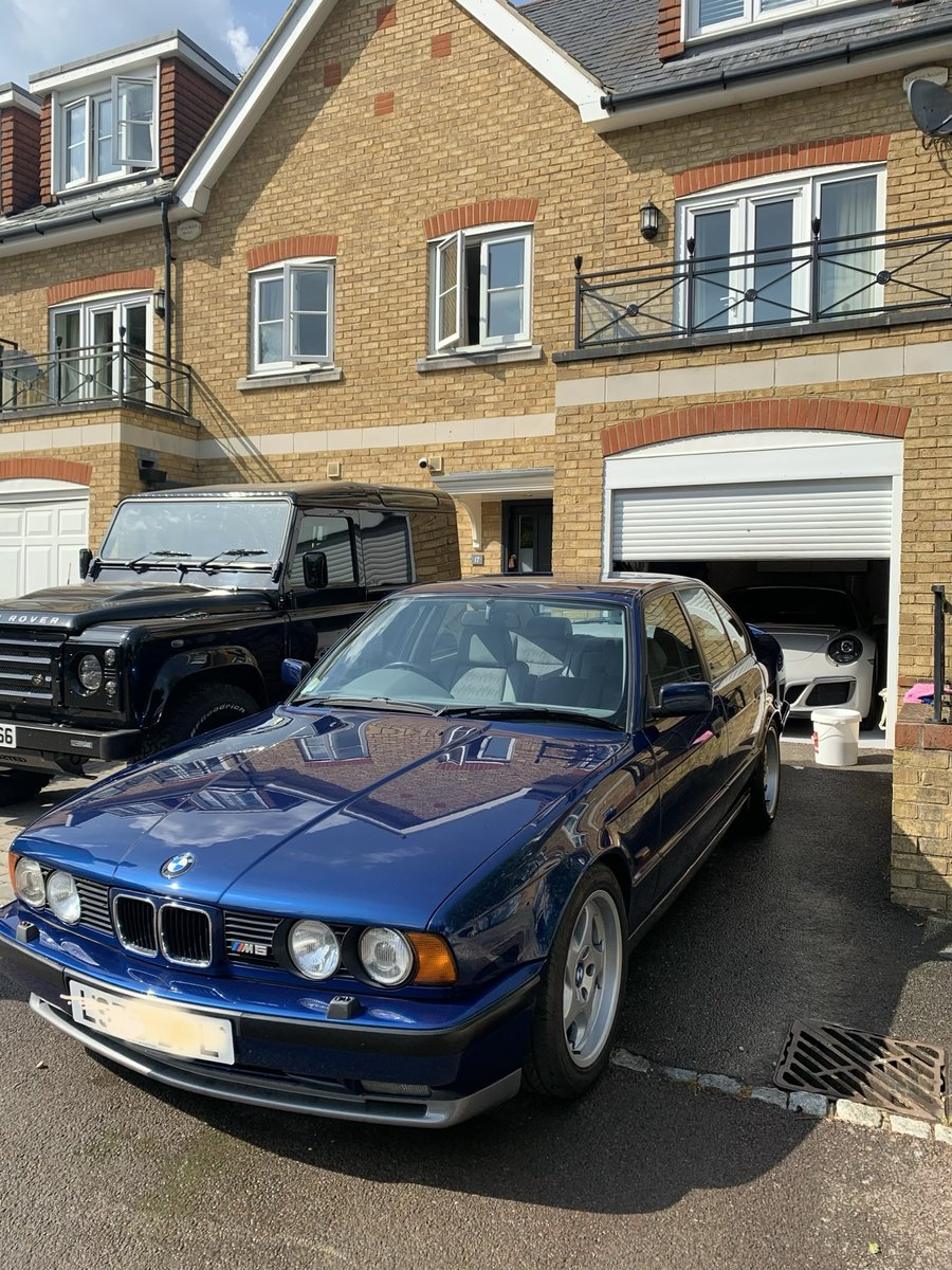 1993 Lovely RHD Genuine BMW E34 3.8 M5 For Sale (picture 1 of 1)