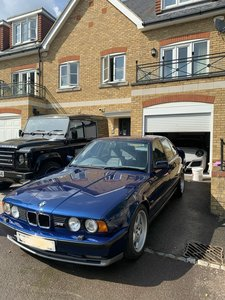 Lovely RHD Genuine BMW E34 3.8 M5