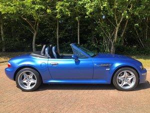 1998 Z3M Roadster Estoril Blue Low Mileage For Sale