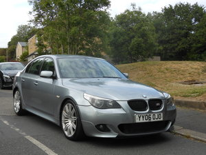 2006 BMW 520d M SPORT 4DR + FSH + 19 SOLD