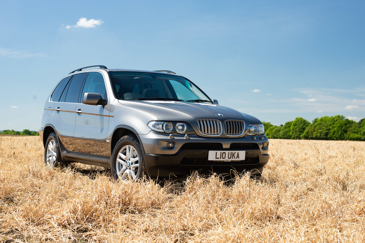 2006 BMW X5 4.4i - 47k miles - FSH SOLD (picture 1 of 6)