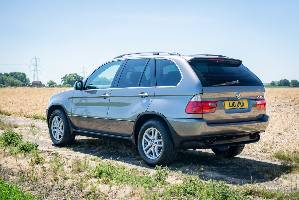 2006 BMW X5 4.4i - 47k miles - FSH SOLD (picture 2 of 6)