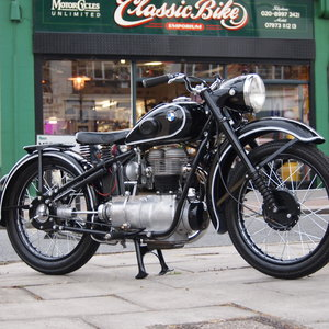 1949 Rare BMW R24 in Concours d,Elegance Show Condition.