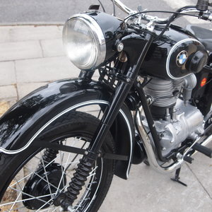 1949 Rare BMW R24 In Concours d'Elegance Show Condition.