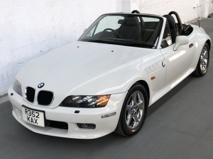 1998 Bmw z3 2.8 roadster, alpine white, automatic