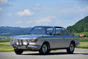 Rare Swiss delivered BMW 2000 Coupe with automatic gearbox