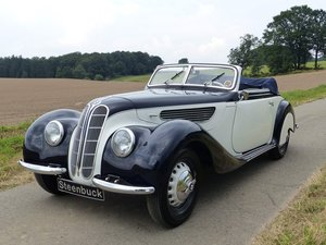 BMW 327 Convertible - MATCHING NUMBERS, FIVA CARD