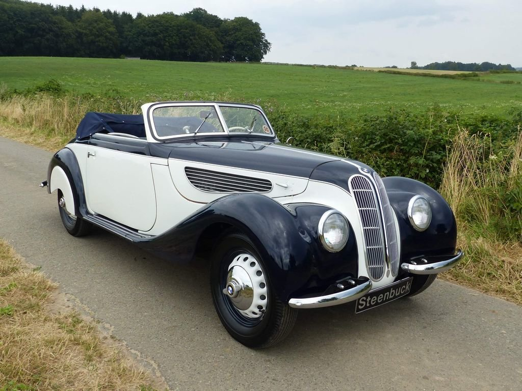 1939 BMW 327 Convertible - MATCHING NUMBERS, FIVA CARD For Sale (picture 2 of 6)
