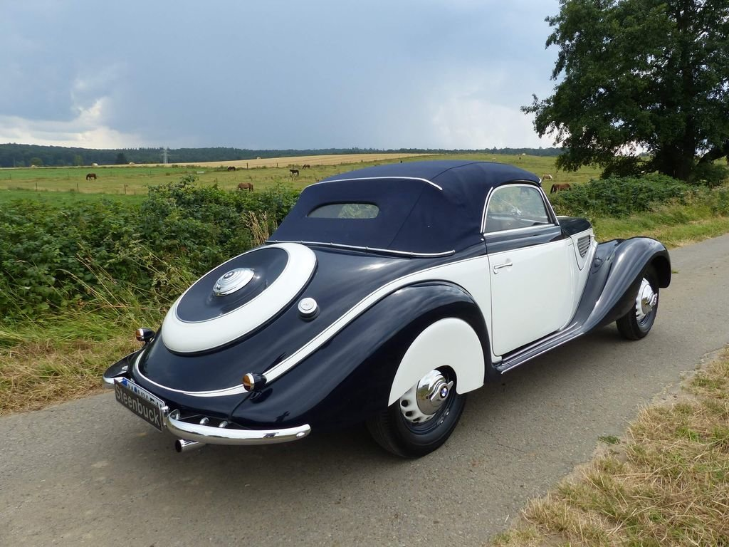 1939 BMW 327 Convertible - MATCHING NUMBERS, FIVA CARD For Sale (picture 4 of 6)