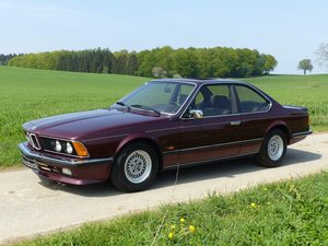 1987 BMW 635 CSi Coupé - in shape as a young used car