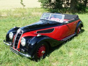 1938 BMW 327 - beautiful sports convertible