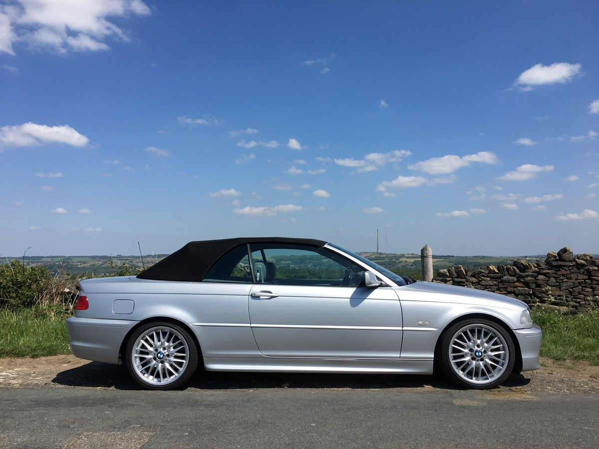 2002 (52) BMW 330Ci Auto M Sport Convertible SOLD (picture 1 of 6)