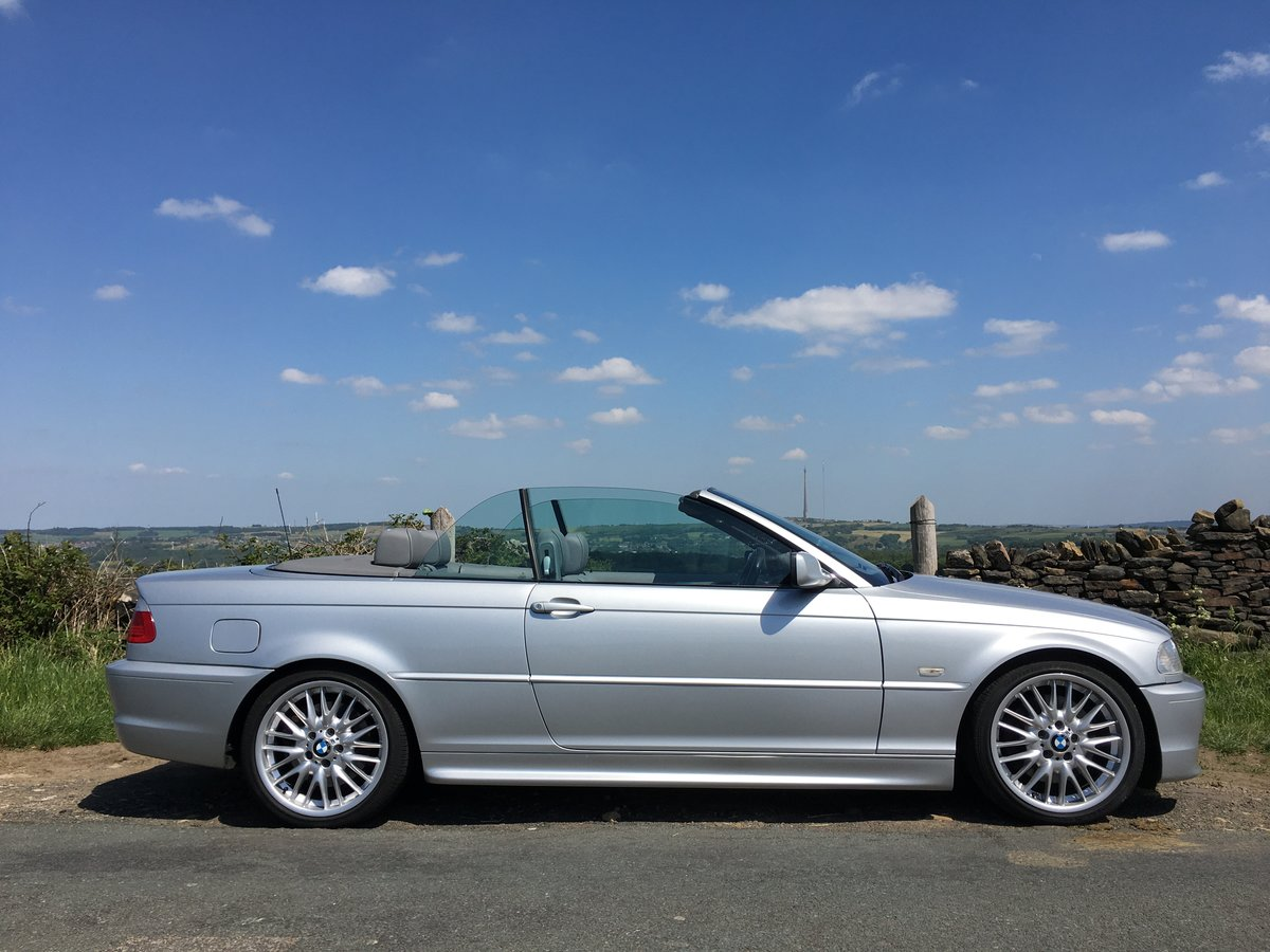 2002 (52) BMW 330Ci Auto M Sport Convertible SOLD (picture 2 of 6)