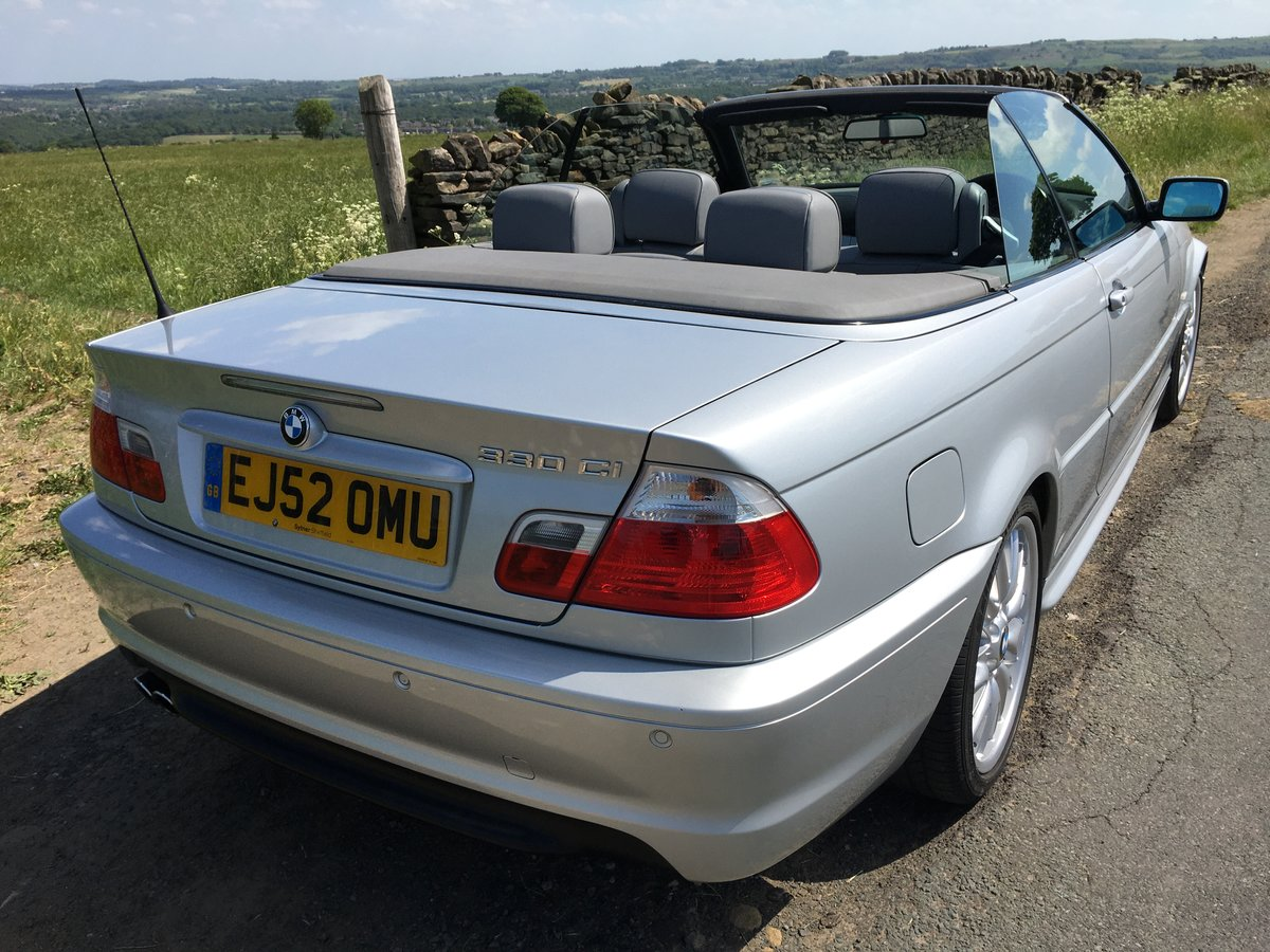 2002 (52) BMW 330Ci Auto M Sport Convertible SOLD (picture 5 of 6)