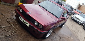 1992 BMW 318i automatic calypso red in great condition For Sale