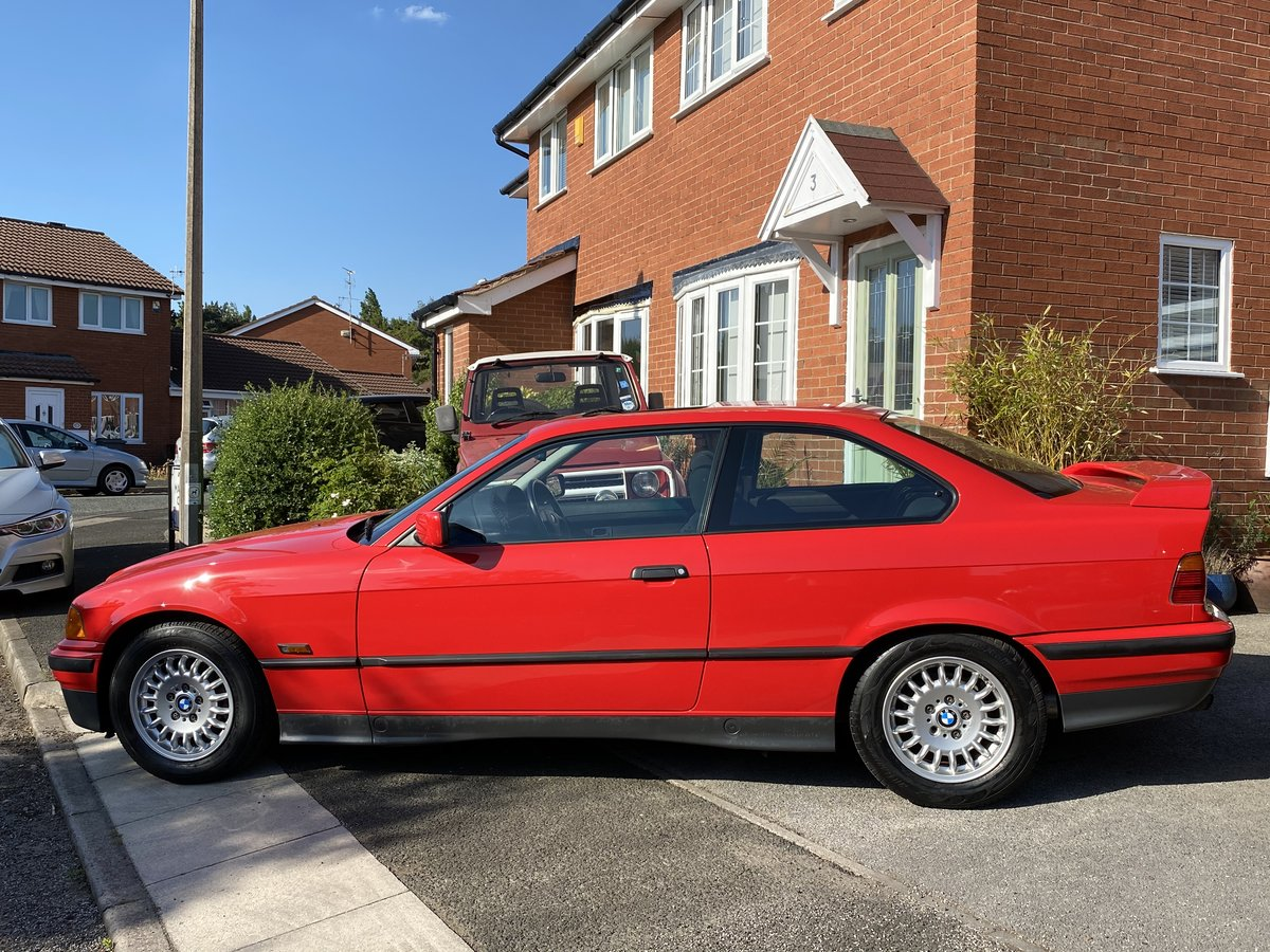 1995 BMW 316i Coupe Automatic E36 - 41,000 miles - Beautiful For Sale (picture 2 of 6)