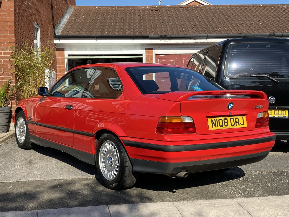 1995 BMW 316i Coupe Automatic E36 - 41,000 miles - Beautiful For Sale (picture 3 of 6)