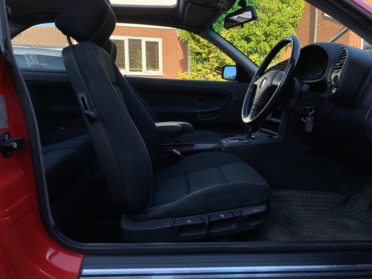 1995 BMW 316i Coupe Automatic E36 - 41,000 miles - Beautiful For Sale (picture 4 of 6)