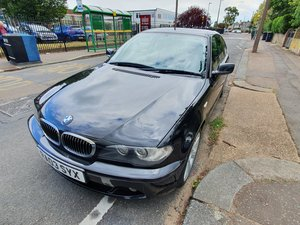 BMW 320ci 2.2L Coupe Black 118k