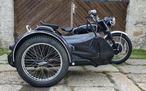 1953 not restored ready to use steib sidecar For Sale
