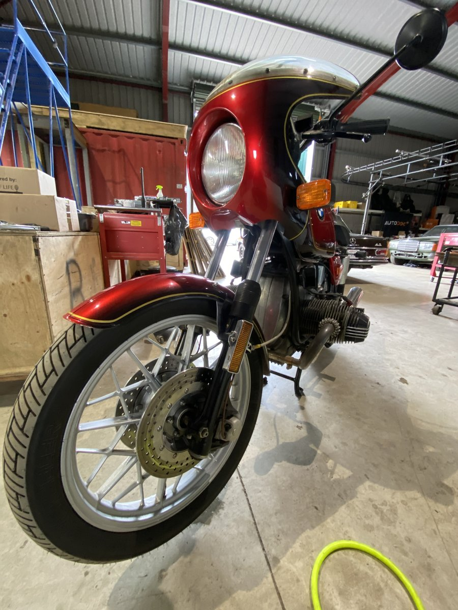 1980 BMW R100S Pristine Condition As New 11k miles For Sale (picture 4 of 6)