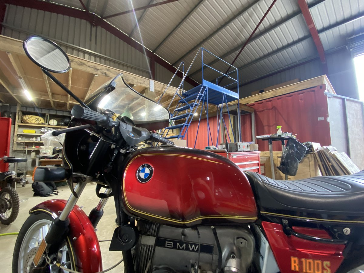 1980 BMW R100S Pristine Condition As New 11k miles For Sale (picture 6 of 6)