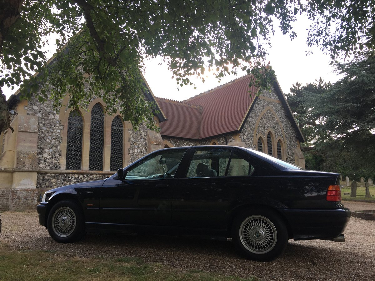 Exceptionally rare BMW 325 TDS E36 1997 Saloon 85K SOLD (picture 1 of 6)