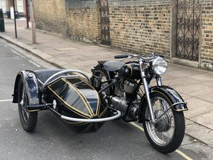 1954 BMW R25 with Sidecar