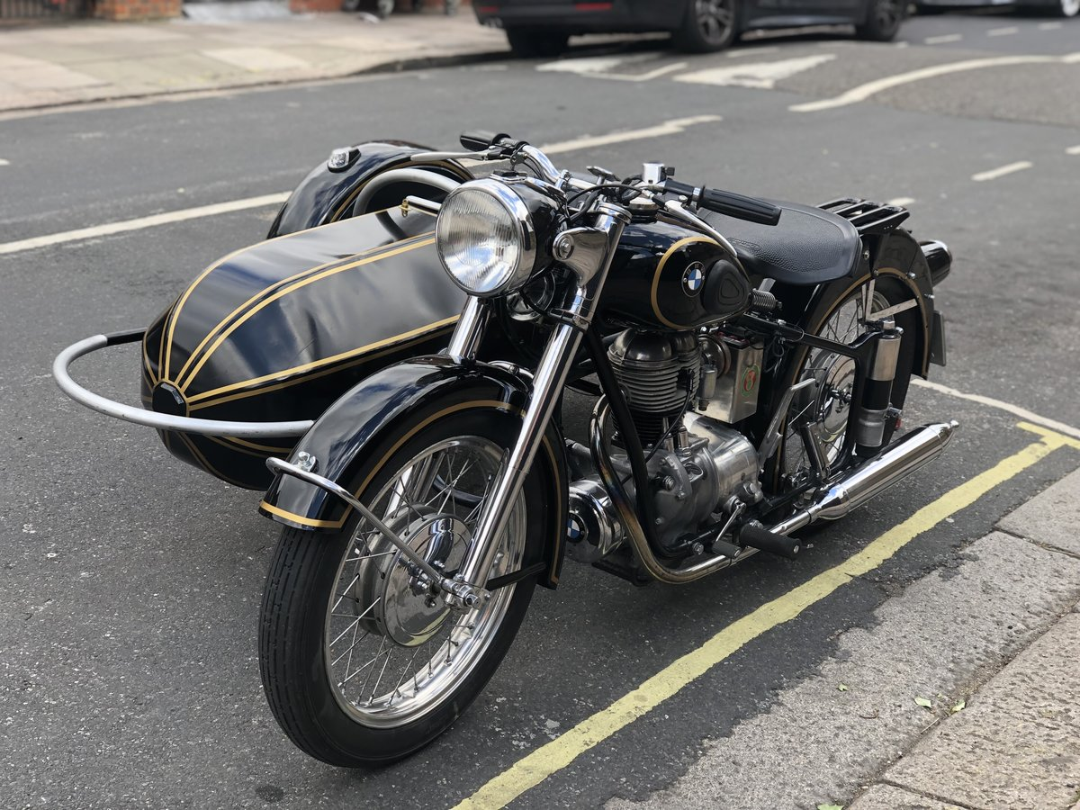 1954 BMW R25 with Sidecar  SOLD (picture 2 of 6)