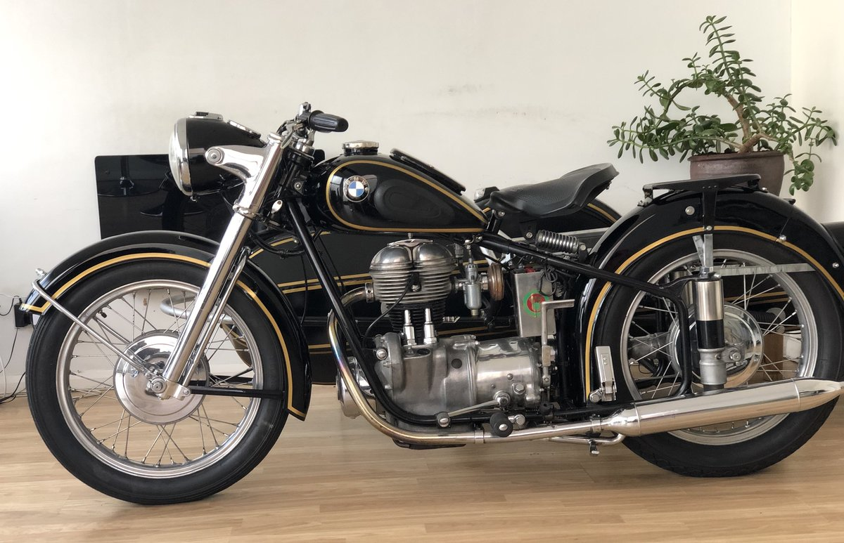 1954 BMW R25 with Sidecar  SOLD (picture 4 of 6)