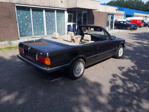 Picture of 1986 BMW 325i convertible E30 diamond black with beige int. For Sale