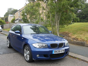 2008 BMW 123D M Sport 3DR Modifed 250BHP + Le Mans Blue For Sale