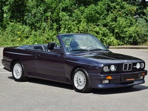 Picture of 1991 BMW M3 cabrio E30 macaoblauw 144000 km black leather + airco For Sale