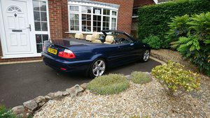 E46 BMW 320ci Convertible Options+Hardtop REDUCED