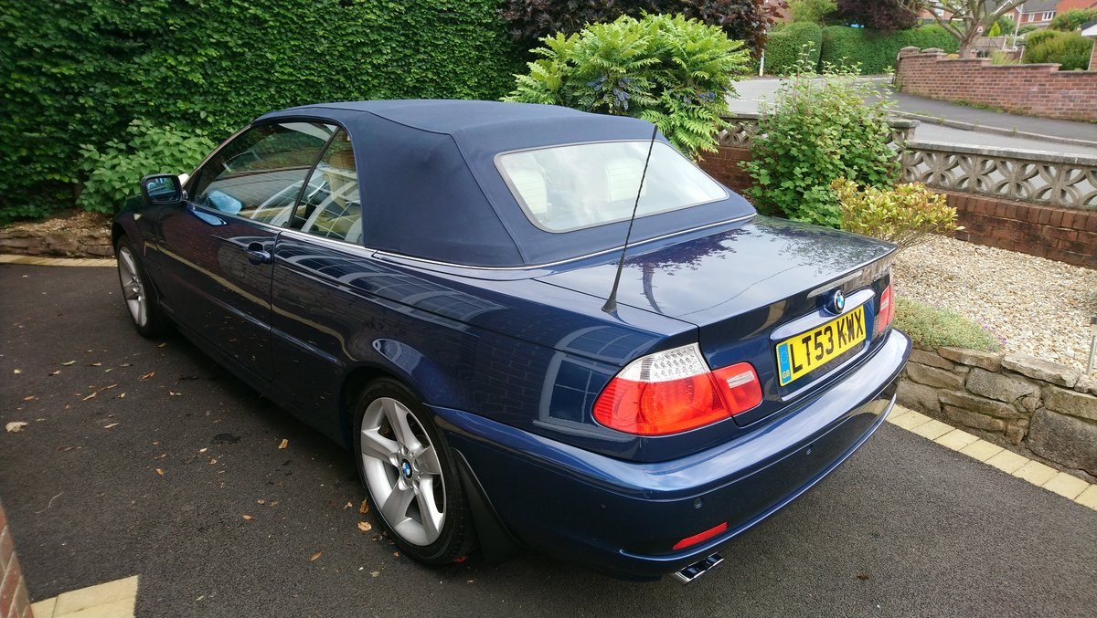 2003 E46 BMW 320ci Convertible Options+Hardtop REDUCED SOLD (picture 2 of 6)