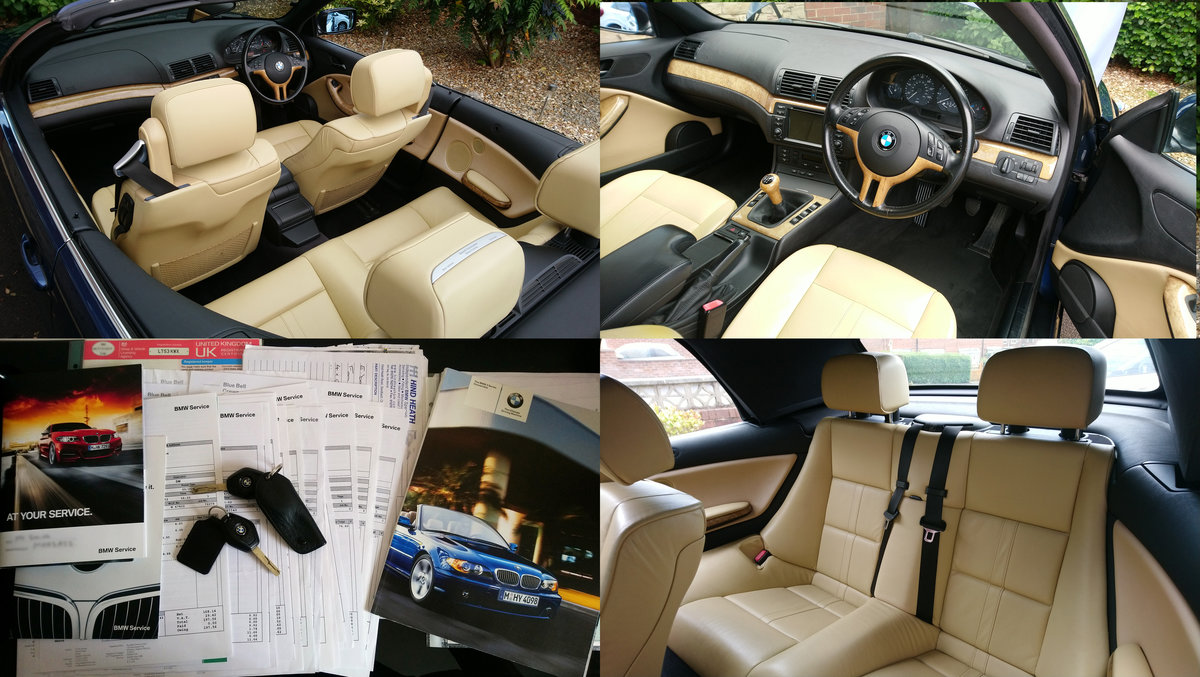 2003 E46 BMW 320ci Convertible Options+Hardtop REDUCED SOLD (picture 4 of 6)