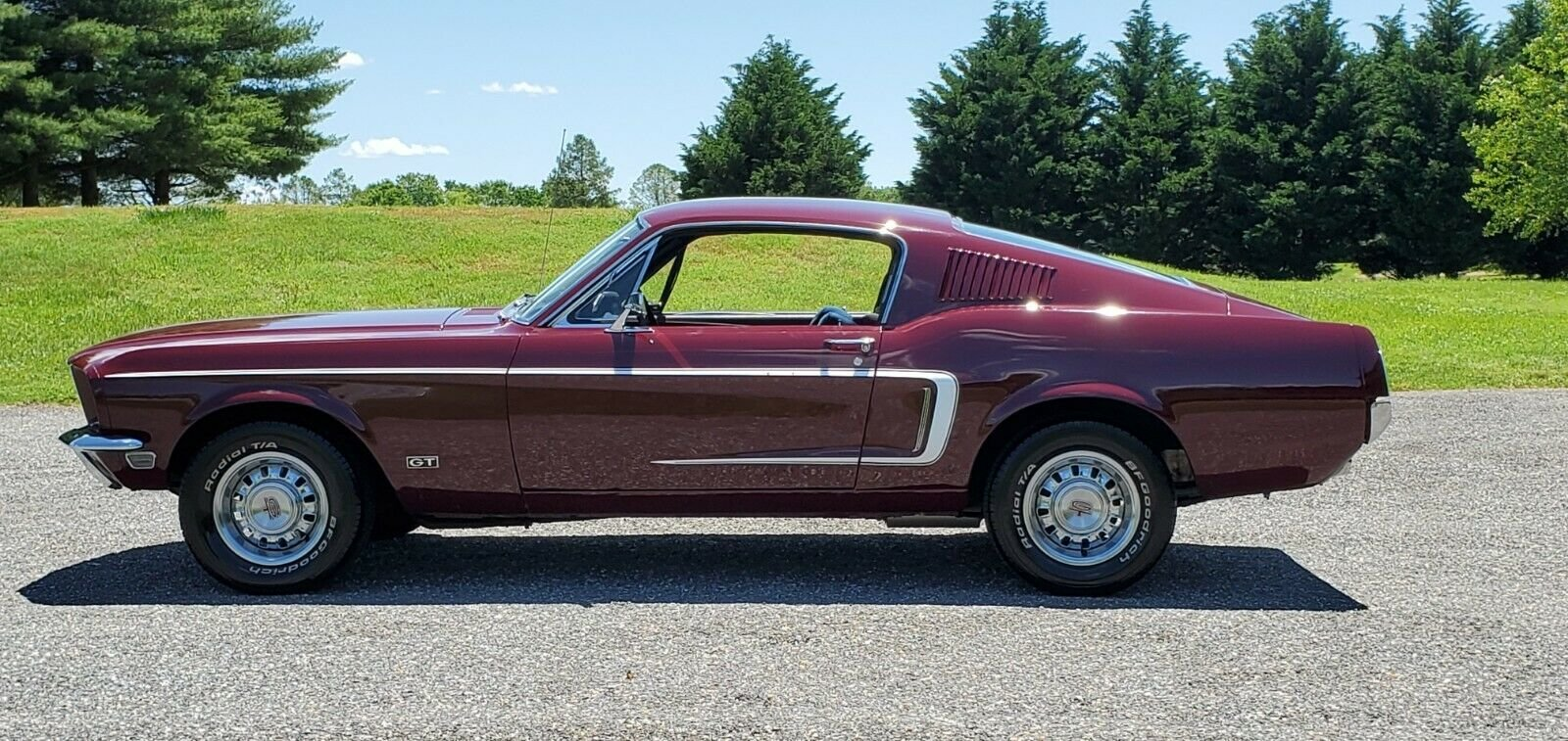 2019 1968 Ford Mustang Fastback Factory GT J code For Sale (picture 6 of 10)