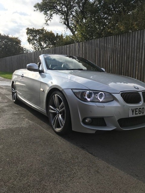 2011 BMW 325i M Sport Convertible High line Auto For Sale (picture 2 of 6)