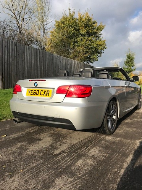 2011 BMW 325i M Sport Convertible High line Auto For Sale (picture 3 of 6)