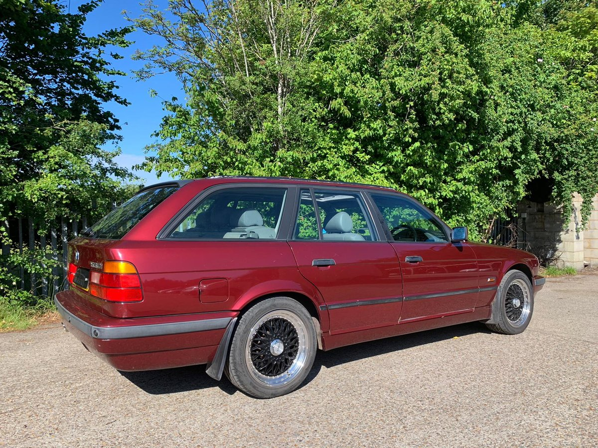 1995 Classic BMW 530 V8 Touring / 2 Former Owners For Sale (picture 1 of 6)